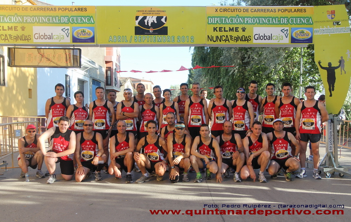 Circuito Carreras Populares Cuenca : Fotos clubs participantes en la v carrera popular de
