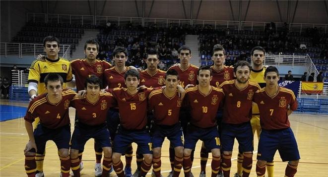 F tbol sala internacional selecciones sub 21 espa a for Federacion espanola de futbol sala