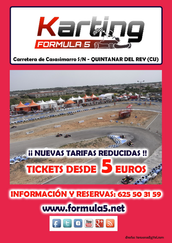 Circuito Quintanar Del Rey : Karting formula de quintanar del rey circuito karts