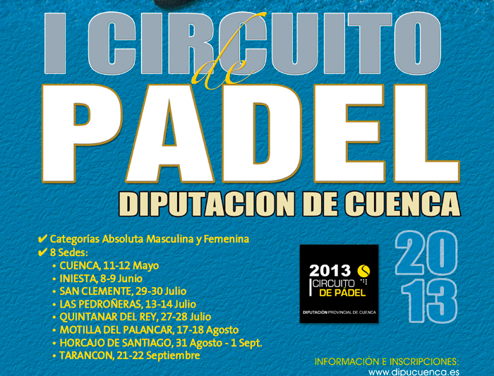 Circuito Quintanar Del Rey : Circuito quintanar del rey iii trofeo de frontenis quot